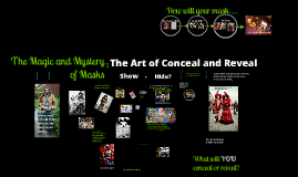 Copy of Behind the Mask: The Art of Conceal and Reveal