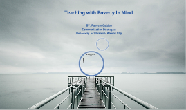 TEACHING IN MIND POVERTY WITH