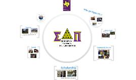 Sigma Pi - Rush Presentation