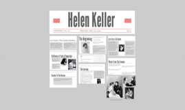 Helen Keller (English III Project)