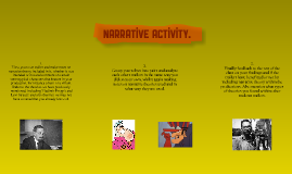 Narrative Activity.
