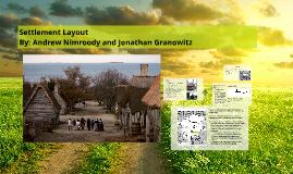 Settlement Layout