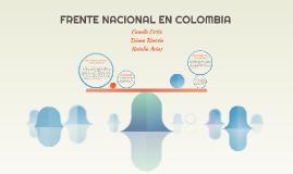 FRENTE NACIONAL EN COLOMBIA
