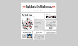 The Potentiality of the Commons
