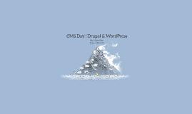 CMS Day ! Drupal & WordPress