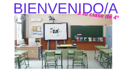 BIENVENIDOS 4º
