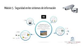 Mod-5 Seguridad en los sistemas de información