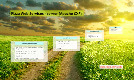 Pizza Web Services - server(Apache CXF)