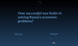 Communist Russia - Industrialisation