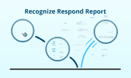 Recognize Respond Report