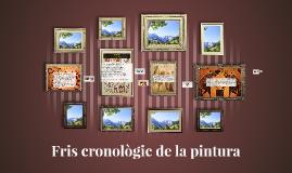 Fris cronològic de la pintura