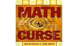 Math book talk - Math Curse
