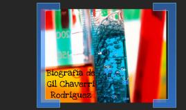 Biografía de Gil Chaverri
