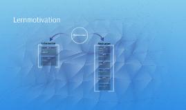 Lernmotivation