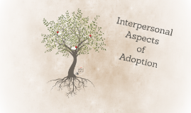 Interpersonal Aspects of Adoption