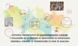 ACTIVIDAD FERMENTATIVA DE Saccharomycodes ludwigii