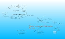 Copy of Algebra I: Classroom Rules and Procedures
