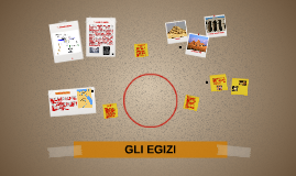 Copy of GLI EGIZI