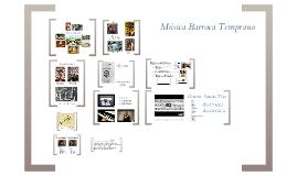 Música Barroca Temprano