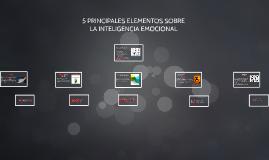 5 Principales Elementos de la Inteligencia Emocional