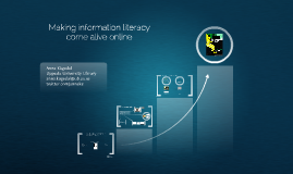 Making IL online come alive - Creating Knowledge