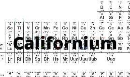 Copy of Californium