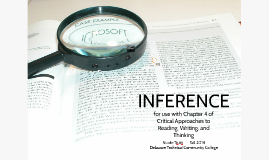 Chapter 4: Inference