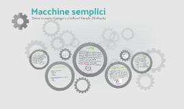 macchine semplici