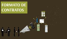 FORMATO DE CONTRATOS
