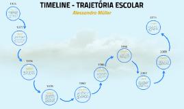 TIMELINE -TRAJETÓRIA ESCOLAR