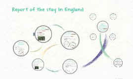 Report of the stay abboard In England