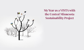 My Year as a VISTA with the Central Minnesota Sustainability