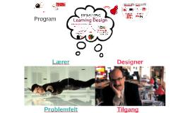 3. F2F seminar - Læreren som designer