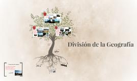 Geografía general y sus ramas