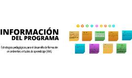 Copy of Estrategias pedagógicas para el desarrollo de formación en ambientes virtuales de aprendizaje (AVA)