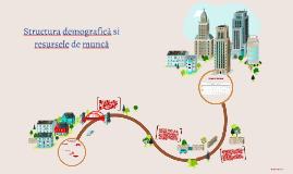 Structura demografică ș resursele de muncă