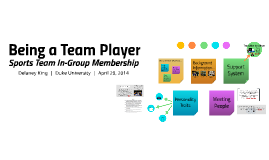Being a Team Player