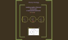 modern mss: conceptual framework