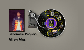 Jeremiah Cooper: All on Wax