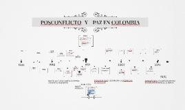 POSCONFLICTO Y PAZ EN COLOMBIA