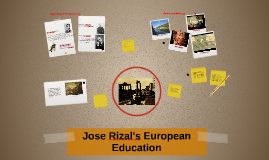 Copy of Jose Rizal's European Education