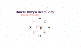 How to Bury a Dead Body