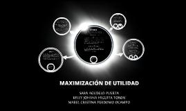CONCEPTOS DE UTILIDAD , INGRESO Y COSTO
