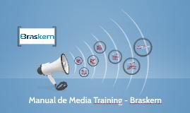 Manual de Media Training - Brasken