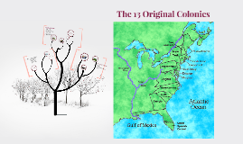The 13 Original Colonies