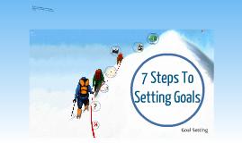 Copy of Goal Setting