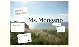 Ms. Mongano