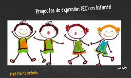 Proyectos de expresión en Infantil