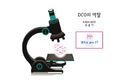 DCO의 역할 발표자료(인천 장애인 아시안)