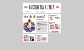 LA CONVERSA ORAL